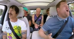 #Curiosidades: Carpool Karaoke con los Red Hot Chili Peppers !Desnudos!