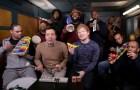 #NowNews: ¡Ahora fue el turno de Ed Sheeran para cantar con instrumentos escolares!