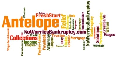 Antelope Bankruptcy Attorney $100 to Start - CALL NOW & SAVE