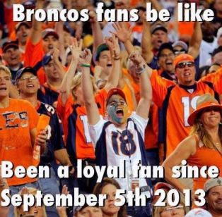 Bronco Bandwagons