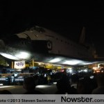 Space Shuttle Endeavor - enroute to the California Science Center