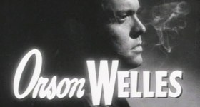 Orson Welles in The Lady from Shanghai trailer.