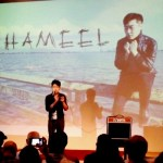 Indie Pop Star Jhameel Kim rocks the stage