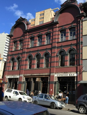 Truth Coffee Shop building front in Cape Town.