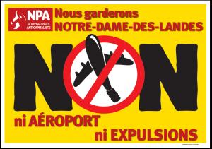 NPA Nous garderons Notre Dame des Landes Ni aéroport ni expulsions