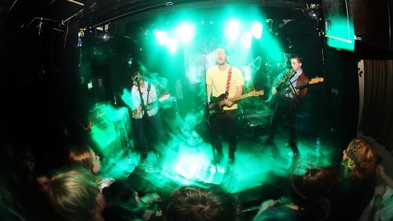 Leif & the Future spiller på Urørt-scenen på fredag klokka 19 (Foto: Kim Erlandsen, NRK P3).