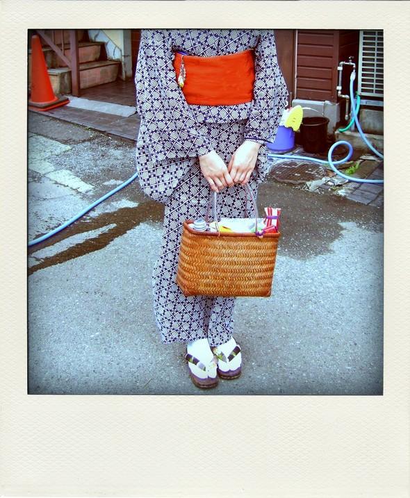 Mode Fashion Japon Japan Yukata Kimono Geita