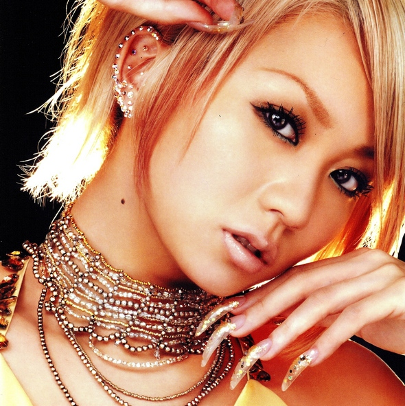 Koda kumi Nail Art Japan Japon