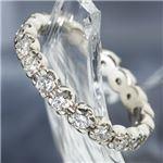 PT900/1.0ct フルエタニティ ダイヤモンドペアリング ・ダイヤ指輪