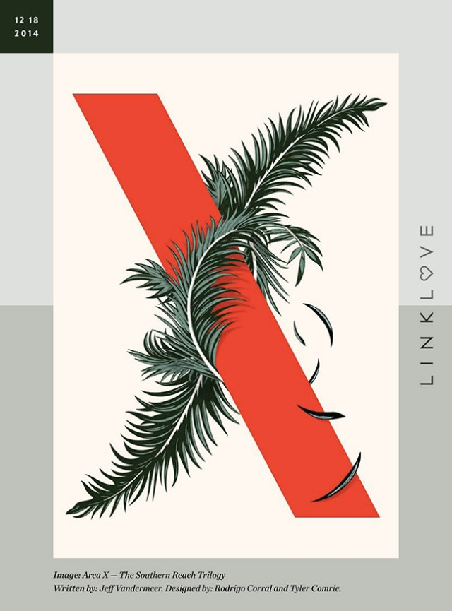 Nubby Twiglet | Link Love: Area X — The Southern Reach Trilogy
