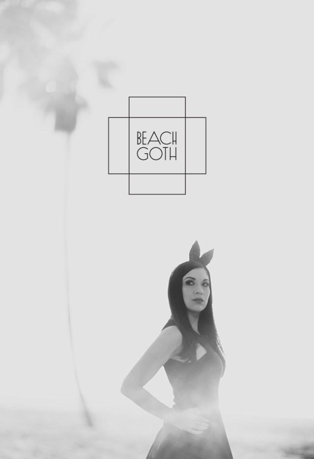 Nubby Twiglet | What I Wore: Beach Goth