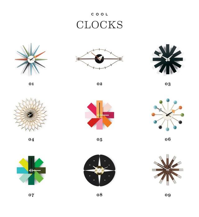 Nubby Twiglet | Mid-century Modern Clocks