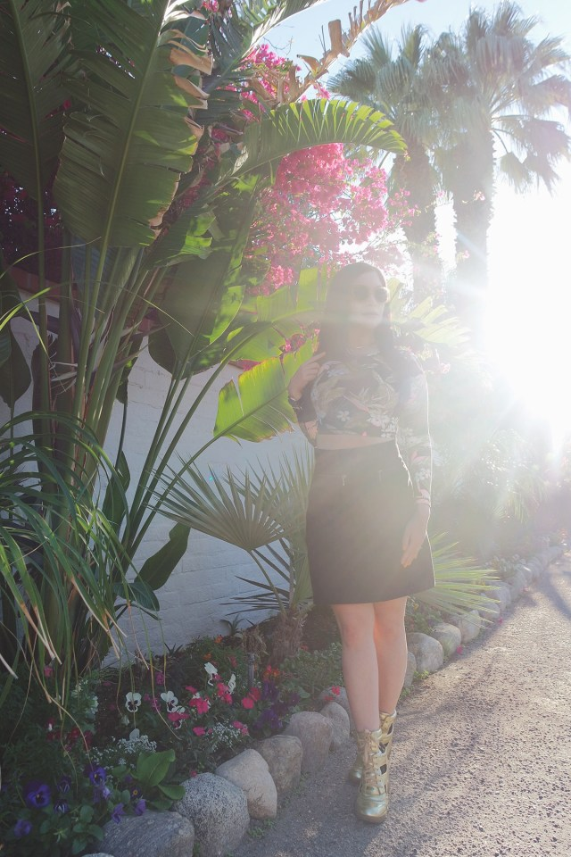 Nubby Twiglet | What I Wore: Palm Springs and Palm Print Forever