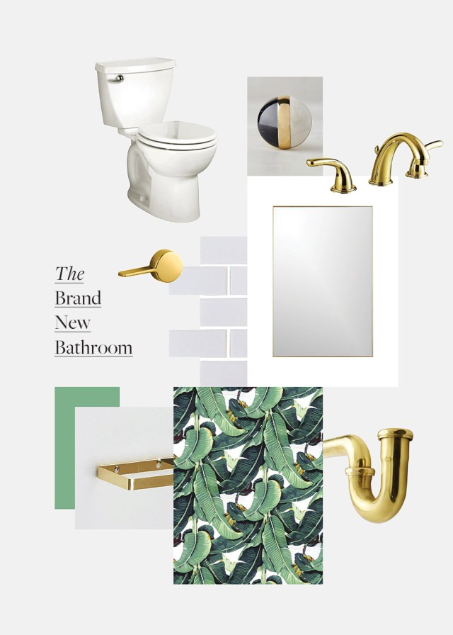Nubby Twiglet | The Brand New Bathroom: Martinique Wallpaper