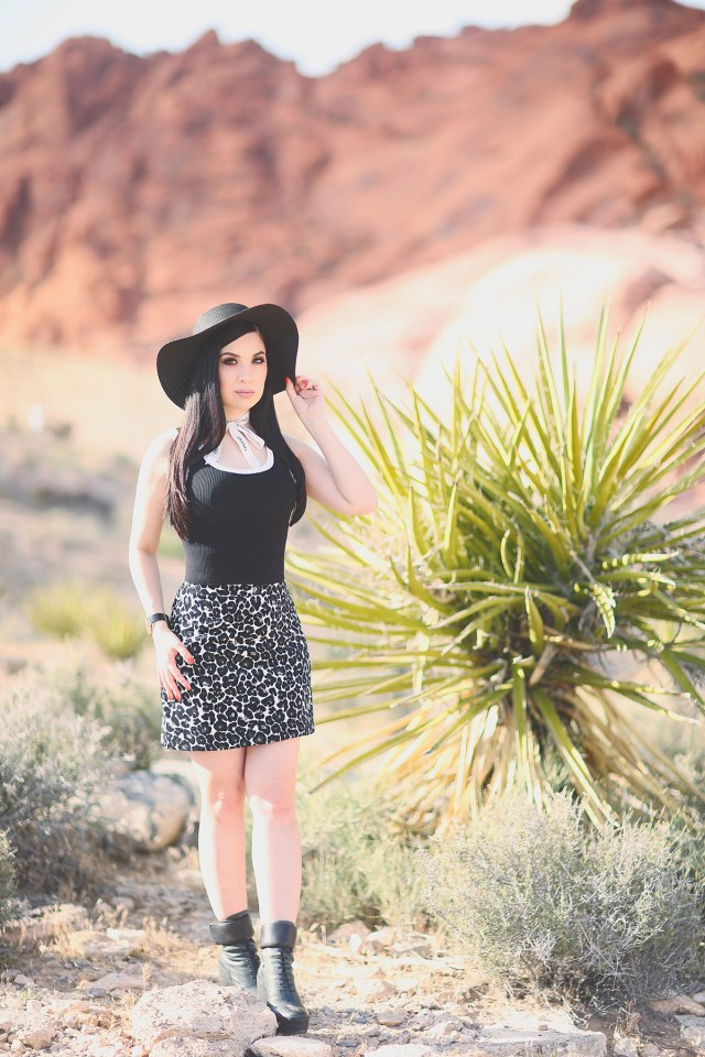 Nubby Twiglet | What I Wore: Big Hats, Smokey Eyes and Leopard Print