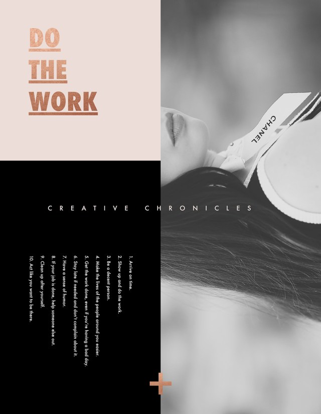 Nubby Twiglet | Creative Chronicles: Show Up and Do the Work