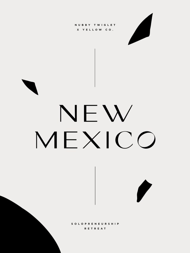 Yellow Co. New Mexico Solopreneur Retreat