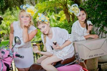 Tea Party Featuring What Hat To Wear To Del Mar Races This Thursday