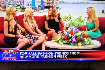 Pink Lagoon Fall Fashions For San Diego As Showcased LIVE With Wendy Williams