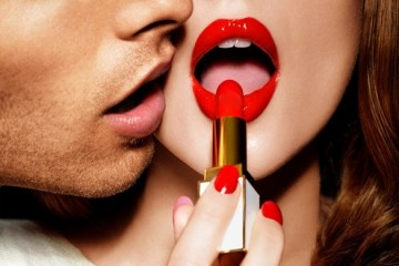 Don't let your lipstick smudge off during your kissing sesh!