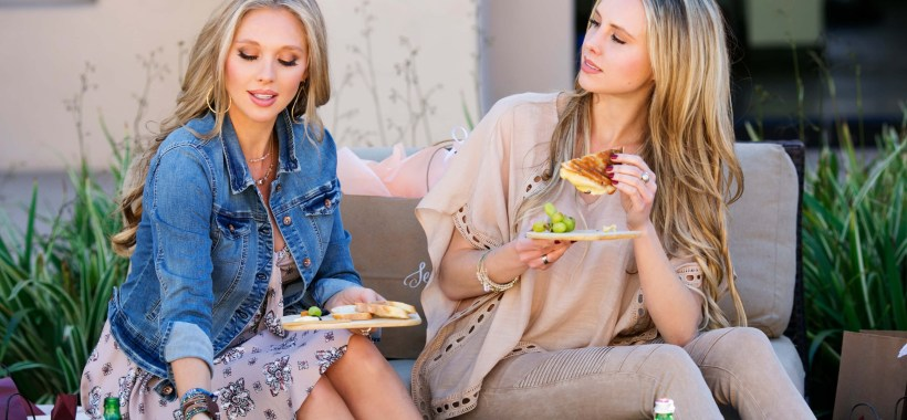 What to wear in San Diego - Venissimo Cheese picnic at The Headquarters at Seaport