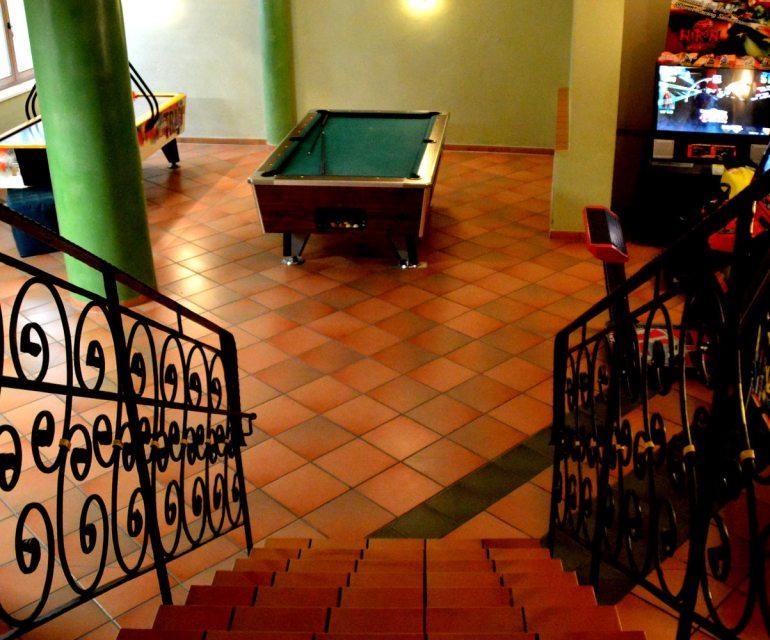Das Untergeschoss lädt zum Spielen ein. © Nina-Carissima Schönrock