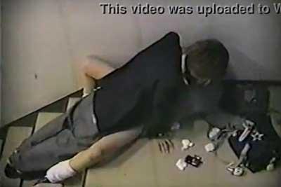 【盗撮動画】ビルの非常階段は高校生カップルのラブホと化してますwwというわけでJKカップルのセックス盗撮させていただきました。