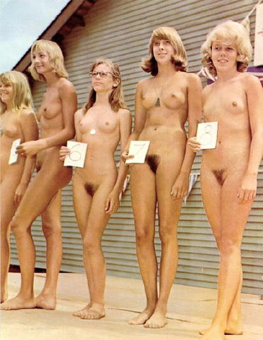 naked beauty pageant girl
