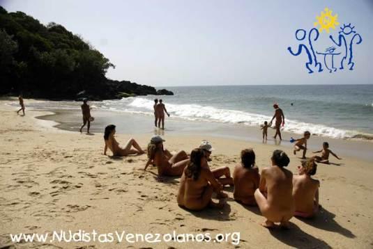 Nudistas Venezolanos