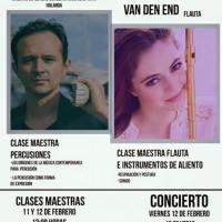 Felicia van den End y Pepe García ofrecen concierto en Durango, México.