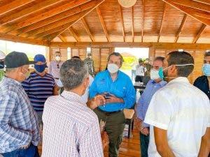 Ministro de Medio Ambiente afirma el tema agua es la prioridad de su gestión