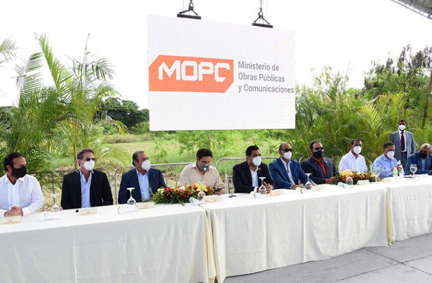 MOPC inicia trabajos de rehabilitación y ampliación de autopista Duarte