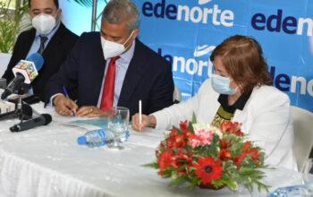 EDENORTE firma acuerdo para garantizar energía en el año escolar 2020-2021