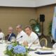 Abinader se reúne con embajadores para hablar de la construcción de hospitales en Haití