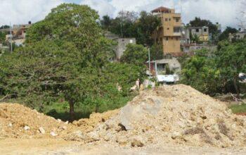 Medio Ambiente identifica hombre rellenaba el cauce del Yaguasa