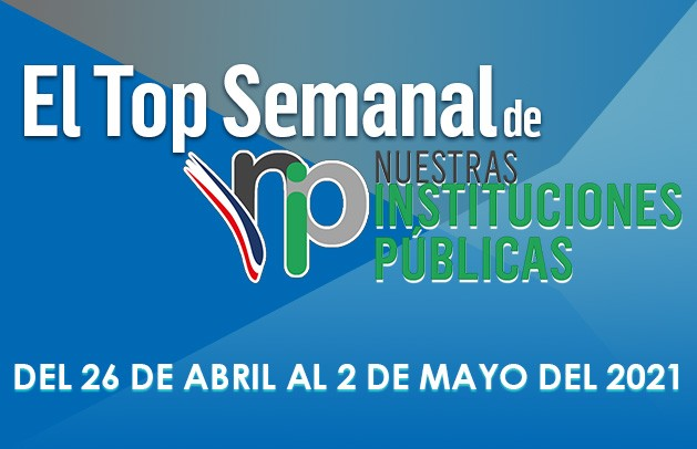 Top semanal del 25 de abril al 2 de mayo