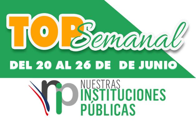 Top Semanal del 20-26 de junio 2021