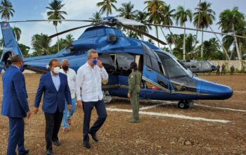Helicóptero presidencial aterriza de emergencia por situación climática