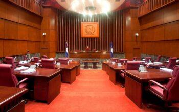Sesión ordinaria del Senado de la República.