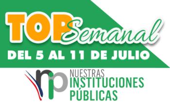 Top Semanal del 5 al 11 de julio 2021