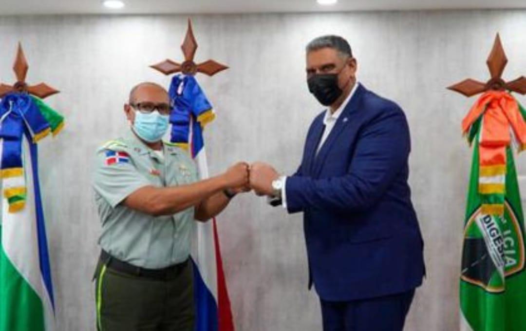 Ministro de Interior y Policía felicita a Digesett por el buen trabajo que han vendido realizando