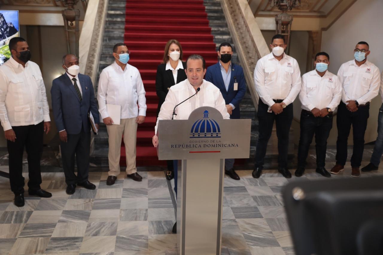 Anuncian saneamiento de los terrenos del Palacio Nacional