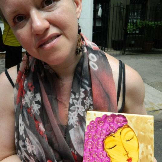 Arte para el amor, la paz y la alegría de Tanya Torres (Foto Nueva York Digital)
