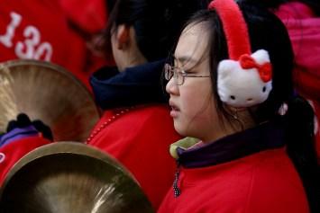 Celebración del año nuevo chino . Foto de Maosung Yao.