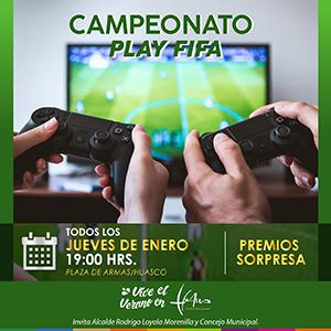 CAMPEONATO PLAY FIFA