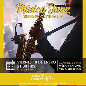 VIERNES CULTURALES MUSICA JAZZ