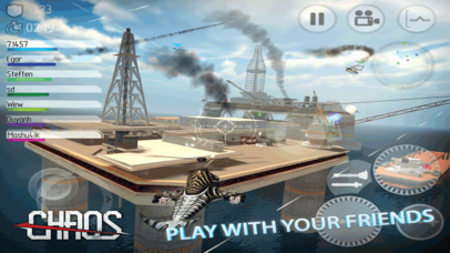 CHAOS - Multiplayer Helicopter Simulator 3D Ipa Game iOS Free Download