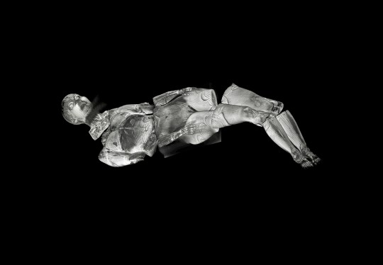 Self-portrait #6 from MRI from the series The Body Ineffable (Les maux non dits), 72 x 105 cm, Inkjet Print (2008)
