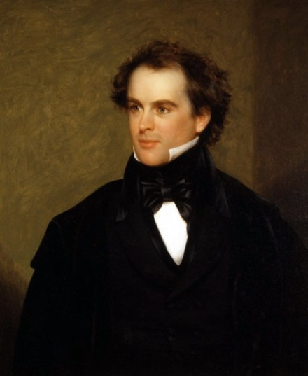 Nathaniel Hawthorne by Charles Osgood, 1841 (Peabody Essex Museum) via Wikipedia