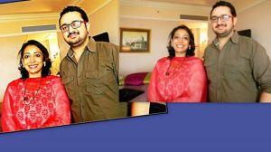 Vedant Sharmaa With Singer Shoma Banarjee Of Taal & Saathiya Fame